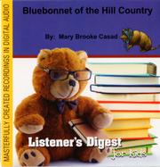 Bluebonnet Audio CD