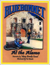 Bluebonnet at the Alamo