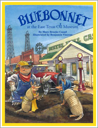 Bluebonnet at the East Texas Oil Museum