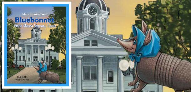 Bluebonnet Visits Mount Vernon, Texas